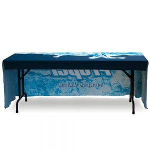 table cloth back view