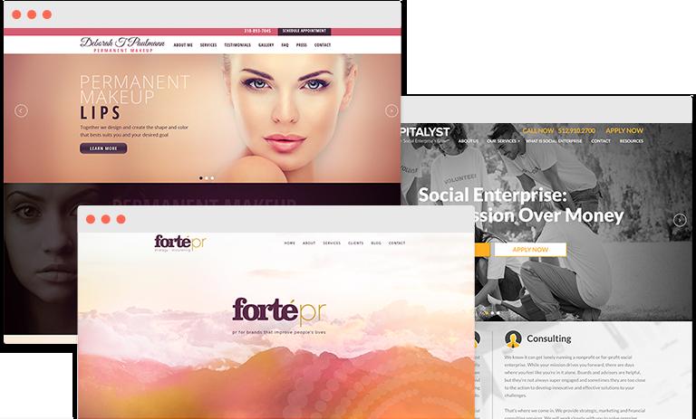 websites samples