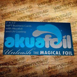 akuafoil card