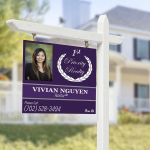 real estate signs