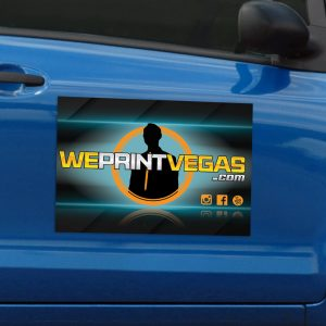 car magnet sample