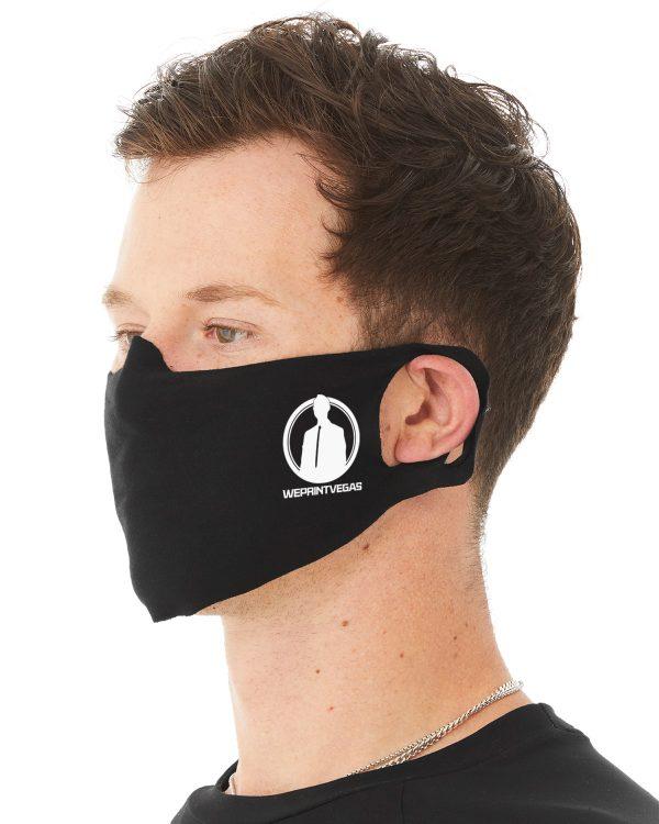 face mask side front